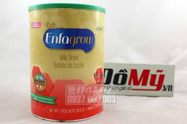 Sữa Enfagrow Older Toddler Vanilla số 3 Mỹ 1.04kg dành cho bé 1-3 tuổithành phần