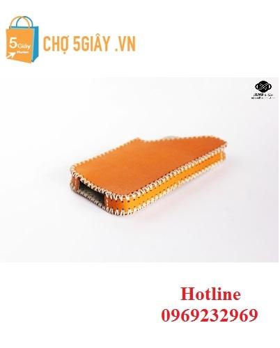 Bao da hộp iPhone 5 sắc cam Jino MPH2