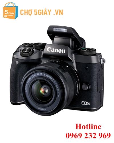 Canon EOS M5+ Kit 15-45mm F/3.5-6.3 IS STM ( Chính hãng)