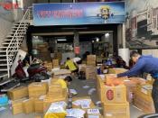 Gửi hàng quốc tế NTT lừa đảo