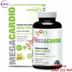 MegaCardio omega 3 dầu cá, bổ mắt, bảo vệ hệ tim mạch