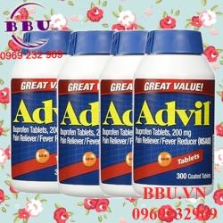 Viên uống Advil Liqui Gels Giảm Đau Hiệu Qủa