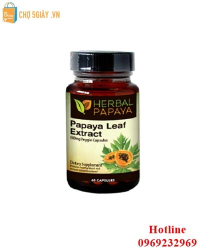 Thuốc điều trị ung thư Papaya Leaf Extract