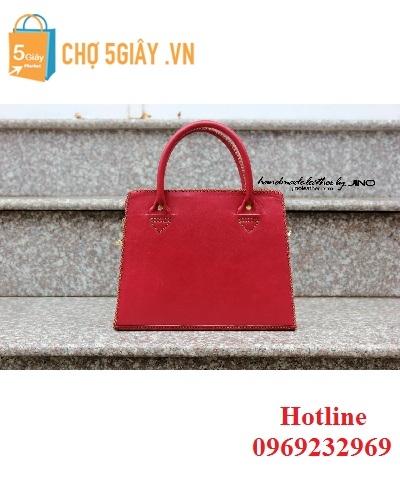 Túi nữ đỏ đô Jino TN7