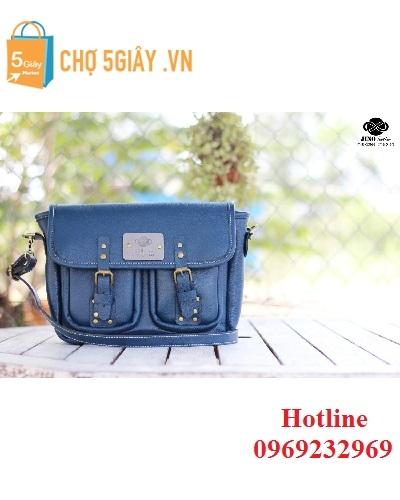 Túi nữ xanh navy Jino TN5